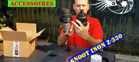 Test de snoot pour le Z-330 (Vidéo)