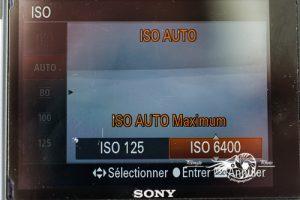 Limitation ISO Sony