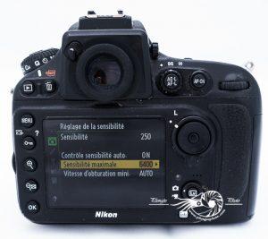 Limitation sensibilité Nikon