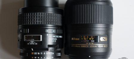Quel 60 mm Macro choisir ?